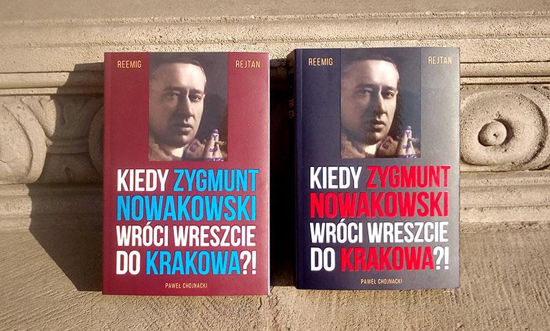 """Dwie okładki książki Paweł Chojnacki – """"Reemigrejtan"""""""